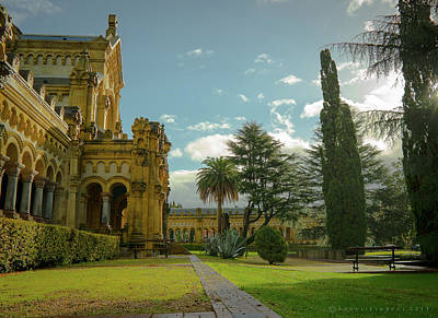 Photograph - Cementerio Municipal De Bilbao Spain by Henri Irizarri