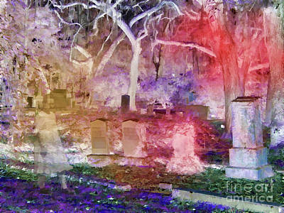 Photograph - Cemetery Child by D Hackett