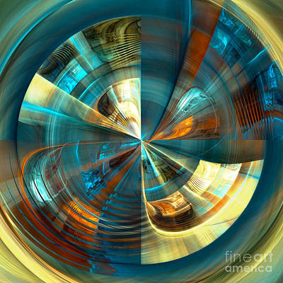 Digital Art - Central by Amy  Gillespie