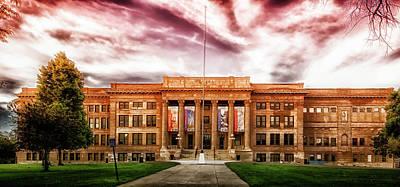 Photograph - Central High School - Pueblo Colorado by L O C
