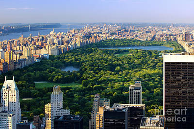 Politicians Royalty-Free and Rights-Managed Images - Central Park by Brian Jannsen