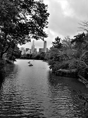 Photograph - Central Park Water by Rob Hans