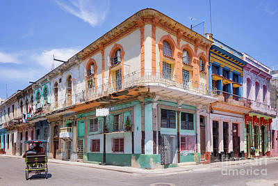 Cuban Architecture Art Print
