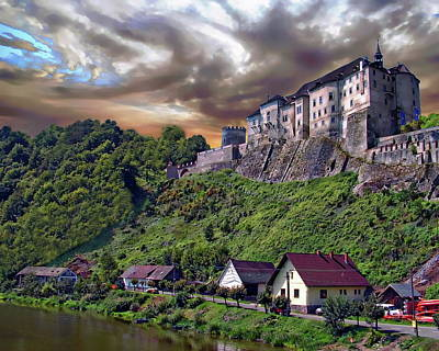 Photograph - Cesky Krumlov Castle by Anthony Dezenzio