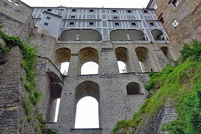 Photograph - Cesky Krumlov Castle Walkways In Cesky Kumlov by Richard Rosenshein