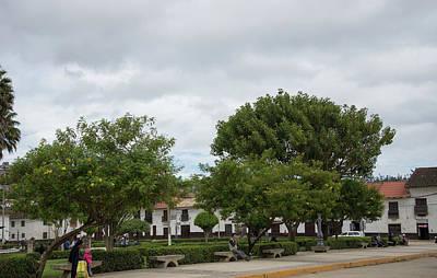 Digital Art - Chachapoyas City Center Scenes by Carol Ailles