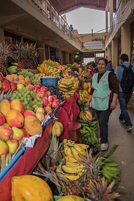 Digital Art - Chachapoyas Market by Carol Ailles