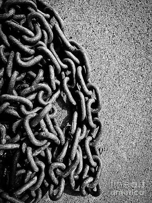 Photograph - Chain by Fei Alexander