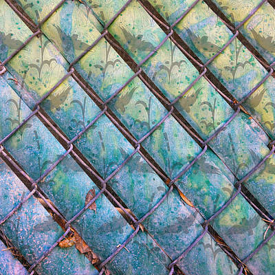 Photograph - Chain Link Birds by Stan  Magnan
