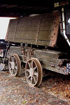 Photograph - Chaldron Wagon Art by Doc Braham