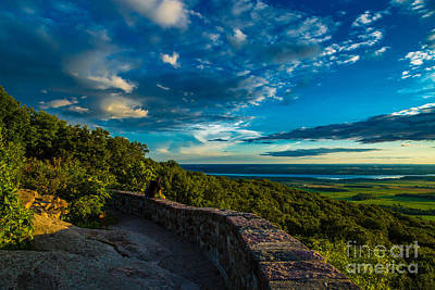 Bath Time Rights Managed Images - Champlain Lookout Royalty-Free Image by Roger Monahan