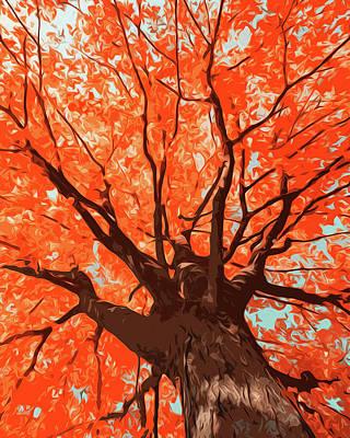 Painting - Change Of Season by Andrea Mazzocchetti