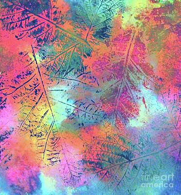 Painting - Changing Colors by Hazel Holland