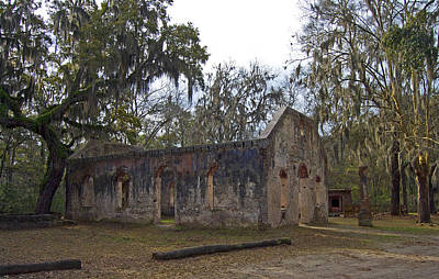 Chapel Of Ease Photograph - Chapel Of Ease Sc by Skip Willits