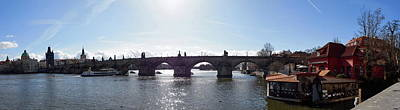 Photograph - Charles Bridge. Prague Spring 2017 by Jouko Lehto