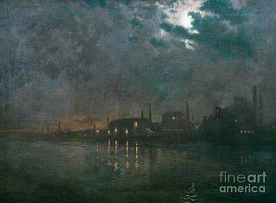 Charles River Painting - Charles Ernest Butler by MotionAge Designs