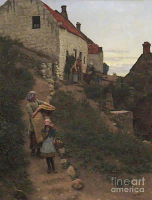 Old Street Painting - Charles Haigh Wood  by MotionAge Designs