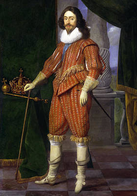 Painting - Charles I - King Of England by Daniel Mijtens
