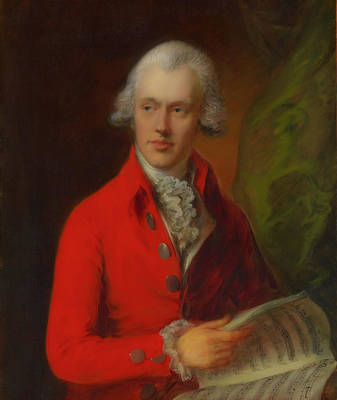 Painting - Charles Rousseau Burney by Thomas Gainsborough