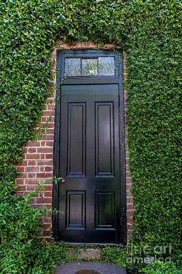 Photograph - Charleston Garden Entrance by Dale Powell