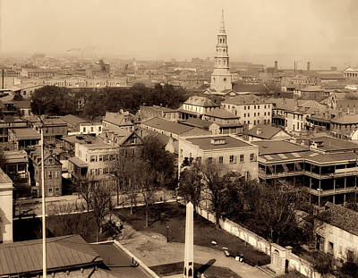 Photograph - Charleston South Carolina 1900 by L O C