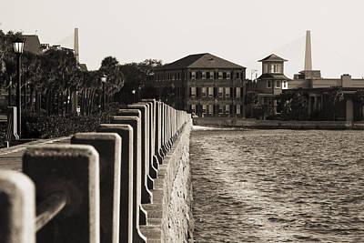 Ravenel Photograph - Charleston South Carolina Waterfront Battery by Dustin K Ryan