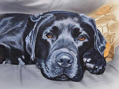 Wall Art - Painting - Charlie by Julian Wheat