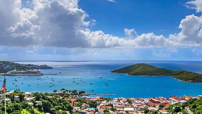 Charlotte Amalie Photograph - Charlotte Amalie St. Thomas by Keith Allen