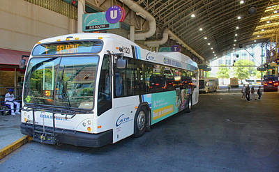 Photograph - Charlotte Area Transit System 10 by Joseph C Hinson Photography