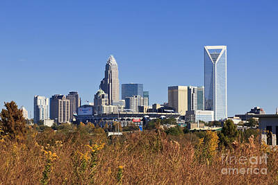Photograph - Charlotte Skyline From Wilkinson Blvd by Jill Lang