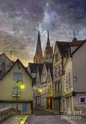Chartres Photograph - Chartres France by Juli Scalzi