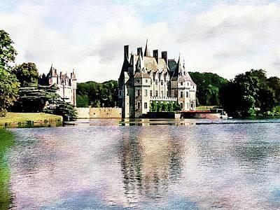 Photograph - Chateau De La Bretesche, Missillac, France by Joseph Hendrix