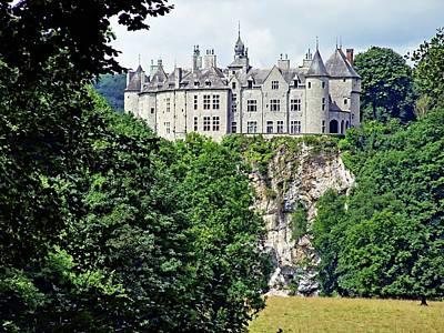 Photograph - Chateau De Walzin - Belgium by Joseph Hendrix