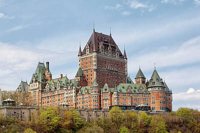 Photograph - Chateau Frontenac by Eunice Gibb