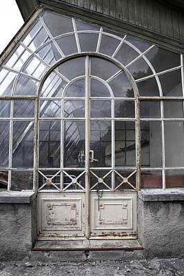 Vevey Photograph - Chateau Series, Greenhouse 1 by Colleen Williams