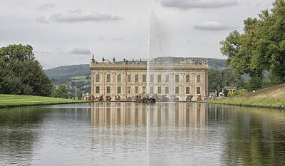 Chatsworth House Art Print