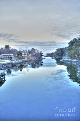 Photograph - Chauncy Creek by David Bishop