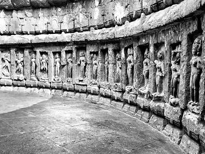 Photograph - Chausath Yogini Temple by Dominic Piperata