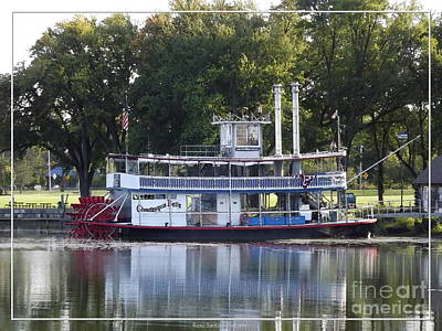 Chautauqua Belle On Lake Chautauqua Art Print