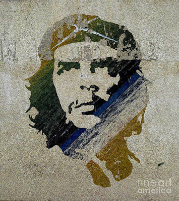 Revolution Painting - Che by Celestial Images