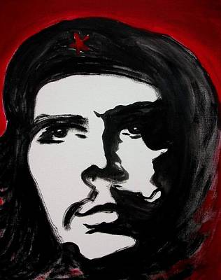 Che Art Print by Jean Billsdon