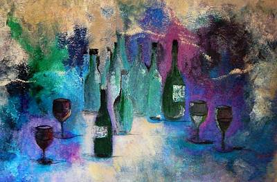 Art Print featuring the painting Cheers by Lisa Kaiser