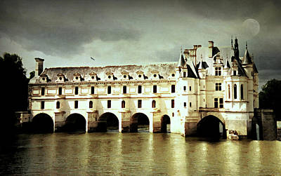 Photograph - Chenonceau Castle by Diana Angstadt