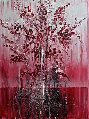 Painting - Cherry Blossom by Izabela Bienko
