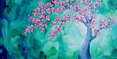 Painting - Cherry Blossom Painting by Shiela Gosselin