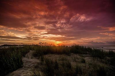 Photograph - Cherry Grove Sunrise by Gerald Monaco