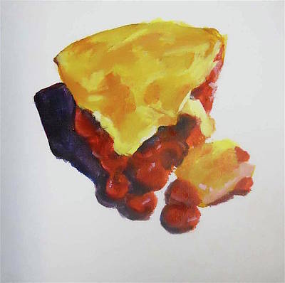 Painting - Cherry Pie by Sarah Vandenbusch