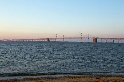 Chesapeake Bay Bridge - Maryland Art Print
