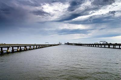 Chesapeake Bay Bridge Maryland Art Print