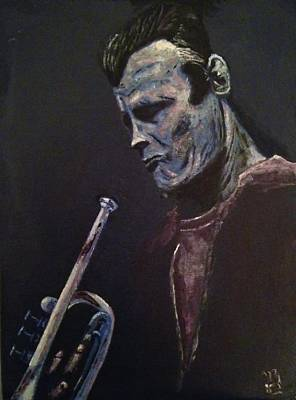 Cornet Painting - Chet by Nick Young